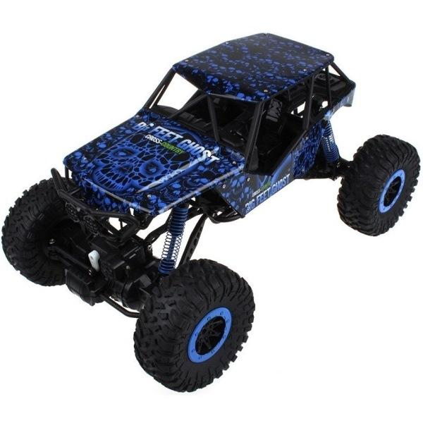 HB RC auto Rock Crawler 2,4GHz 1:10 4x4 - modrý